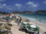 Orient Beach  St Maarten  Leeward Islands  French West Indies  Caribbean