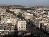 Overlooking the Capital City of Asmara  Eritrea  Africa