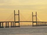 Second Severn Bridge  Avon  England  United Kingdom  Europe