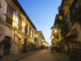 Spanish Old Town  Vigan City  Ilocos Province  Luzon Island  Philippines  Southeast Asia