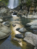 Bomod Waterfall  Banga-An  Near Sagada Town  the Cordillera Mountains  Luzon  Philippines