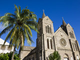 Immaculate Conception Cathedral  Basseterre  St Kitts  Leeward Islands  West Indies  Caribbean