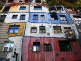 Hundertwasser House  Vienna  Austria  Europe