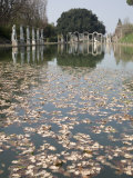 Pool  Canopo  Hadrian's Villa  UNESCO World Heritage Site  Tivoli  Near Rome  Lazio  Italy
