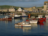 Boats Moored in West Bay Harbour  Dorset  England  United Kingdom  Europe