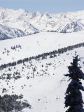 Vail Ski Resort and the Gore Mountains  Vail  Colorado  United States of America  North America