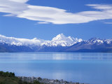 Mount Cook  Mount Cook National Park  Canterbury  South Island  New Zealand