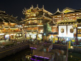 Yuyuan Garden Bazaar Buildings Founded by Ming Dynasty Pan Family  Shanghai  China