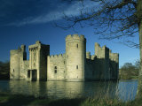 Bodiam Castle  Sussex  England  United Kingdom  Europe