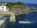 Lay Harbour  Ile De Groix  Brittany  France  Europe