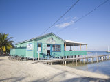 Rainbow Grill and Bar  Caye Caulker  Belize  Central America