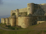 Krak Des Chevaliers  UNESCO World Heritage Site  Syria  Middle East