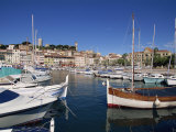 Le Suquet and Harbour  Old Town  Cannes  Alpes Maritimes  Provence  Cote D'Azur  France