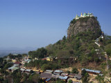 Temple of Mount Popa  Abode of Myanmar's Most Powerful Nats  Mount Popa  Myanmar