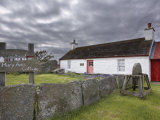Mary Ann's Cottage  Crofting Museum  Dunnet  Caithness  Scotland  United Kingdom  Europe