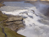 Gullfoss Waterfalls  Iceland  Polar Regions