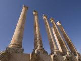 Sabratha Roman Site  UNESCO World Heritage Site  Tripolitania  Libya  North Africa  Africa