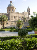 Cathedral Gardens  Palermo  Sicily  Italy  Europe