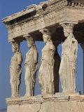 Caryatid Portico  Erechthion  Acropolis  UNESCO World Heritage Site  Athens  Greece  Europe