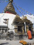 Swayambhunath Stupa  UNESCO World Heritage Site  Kathmandu  Nepal