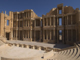 Roman Theatre  Sabratha Roman Site  UNESCO World Heritage Site  Tripolitania  Libya