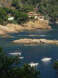 Rocky Coastline  Aiguablava  Costa Brava  Gerona  Cataluna  Spain  Mediterranean  Europe