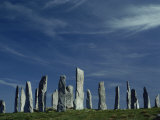 Callanish Stone Circle  Lewis  Outer Hebrides  Western Isles  Scotland  United Kingdom  Europe