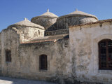 Exterior of the Agia Paraskeri Christian Church  Yeroskipou  Island of Cyprus  Mediterranean
