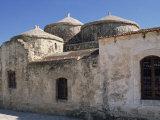 Exterior of the Agia Paraskeri Christian Church  Yeroskipou  Island of Cyprus  Mediterranean