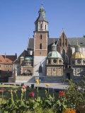 Wawel Castle  Wawel Hill  Krakow  Poland  Europe