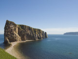 Perce  Gaspe Peninsula  Province of Quebec  Canada  North America