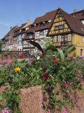 Quai De La Poissonnerie  Colmar  Alsace  France  Europe