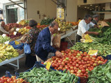 Fruit and Vegetable Market  Piraeus  Athens  Greece  Europe