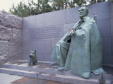 Memorial to Fdr  in Washington Dc  United States of America  North America