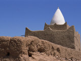 Exterior of the Tomb of Marabout Sidi Brahim  Draa Valley  Morocco  North Africa  Africa
