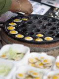 Cooking Quail Eggs  Chatuchak Weekend Market  Bangkok  Thailand  Southeast Asia