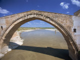Single Arch of the Malabadi Bridge across the Batman River  Kurdistan Area of Anatolia  Turkey