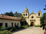 Carmel Mission Basilica  Founded in 1770  Carmel-By-The-Sea  California  USA
