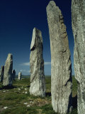 Callanish Standing Stones  Lewis  Outer Hebrides  Scotland  United Kingdom  Europe