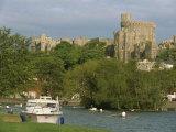 Windsor Castle and River Thames  Berkshire  England  United Kingdom  Europe