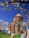 Armenian Church of the Holy Cross on Akdamar Island in Lake Van  Anatolia  Eastern Turkey Minor