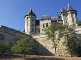 Chateau  Saumur  Pays De La Loire  France  Europe