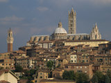 Skyline of Siena  Tuscany  Italy  Europe