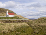 Helgafell Church Near Stykkisholmur  Snaefellsnes Peninsula  Iceland  Polar Regions