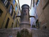Nasoni Fountain  Via Nazionale  Rome  Lazio  Italy  Europe