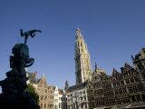Grote Markt  Antwerp  Belgium  Europe