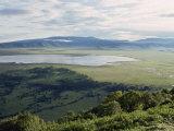 Ngorongoro Crater  UNESCO World Heritage Site  Tanzania  East Africa  Africa