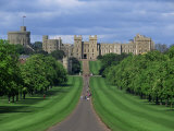 Long Walk from Windsor Castle  Berkshire  England  United Kingdom  Europe
