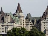 Fairmont Chateau Laurier Hotel  Ottawa  Ontario Province  Canada
