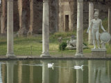 Hadrian&#39;s Villa  UNESCO World Heritage Site  Tivoli  Lazio  Italy  Europe